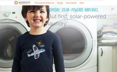 Sungevity's new brand marketing campaign invokes the public's desire to see a future powered by solar energy.