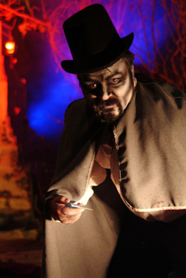 A pioneer in the industry, The Beast haunted house in Kansas City is also America's largest.  (PRNewsFoto/Kansas City Convention & Visitors Association)