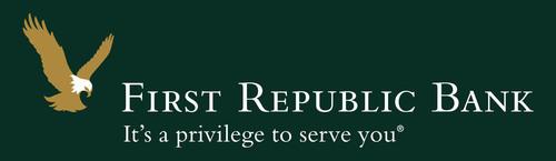 First Republic Bank's logo. (PRNewsFoto/First Republic Bank)