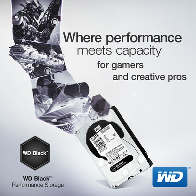 WD Expands Its Performance Level Desktop Hard Drives To 6 TB Capacity