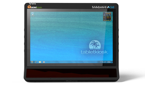 Sahara EyeSlate is the first enterprise-grade Tablet PC with integrated Eye Tracking functionality.  (PRNewsFoto/TabletKiosk)