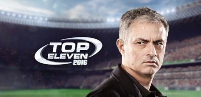 Jose Mourinho Returns to the Dugout for Top Eleven 2016 (PRNewsFoto/Top Eleven 2016) (PRNewsFoto/Top Eleven 2016)