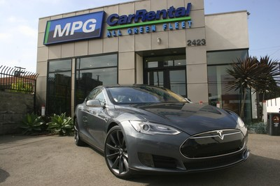Tesla Model S Lowest Daily Rate in the World