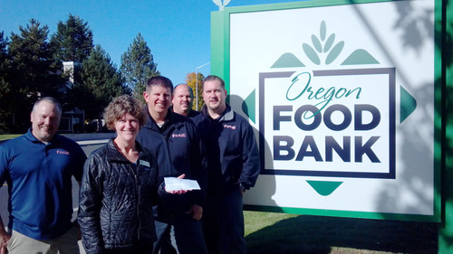 Local Phusion Projects Employees Volunteer at Oregon Food Bank