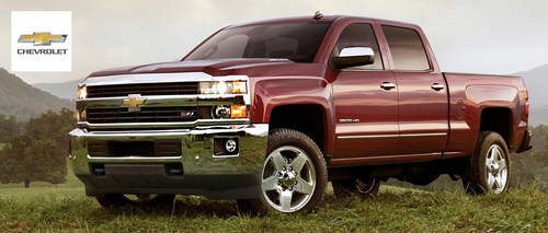 Offering a full redesign in addition to its legendary performance, the 2015 Chevy Silverado 2500HD has now arrived at Harbin Automotive in Scottsboro, Ala. Visit today to schedule a test drive. (PRNewsFoto/Harbin Automotive)