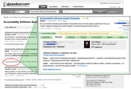 Glassdoor Launches JobScope™ to Give Job Seekers a Look Inside a Company, Directly From a Job