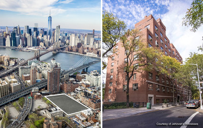 Left: 85 Jay Street. Right: 124 Columbia Heights.