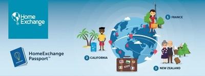 HomeExchange Launches Passport(TM) Program, a Breakthrough Evolution in Travel (PRNewsFoto/HomeExchange)