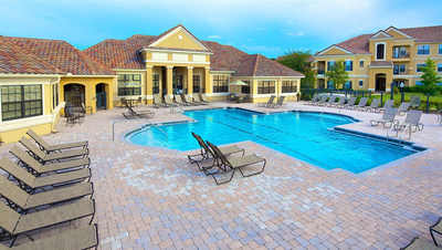 "Mirador at River City is a Class ""A"" garden-style apartment community comprised of 276 units situated on over 17 acres. Built in 2007, Mirador at River City offers resort-style amenities, including a clubhouse, spa, swimming pool with outdoor grilling, 24-hour fitness center, business center, billiard room, tennis court, basketball court, bark park, playground, detached and attached garages."