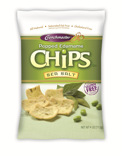 Crunchmaster® Launches New Popped Edamame Chips - Extraordinary Veggie Chips