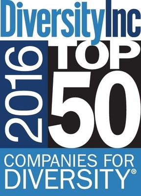 2016 DiversityInc Top 50 Companies Logo