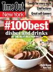 Time Out New York encourages users to eat & tweet their way through the #100best dishes & drinks list.  (PRNewsFoto/Time Out New York)