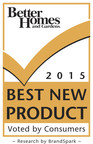 2015 Better Homes and Gardens Best New Product Award
