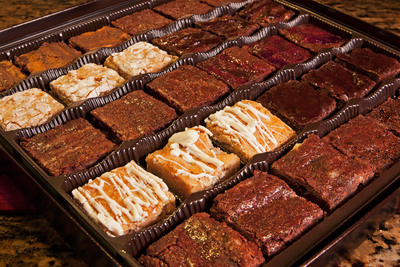 Corporate gourmet brownies gifts for any office.  (PRNewsFoto/F. d'Anconia Brownies)