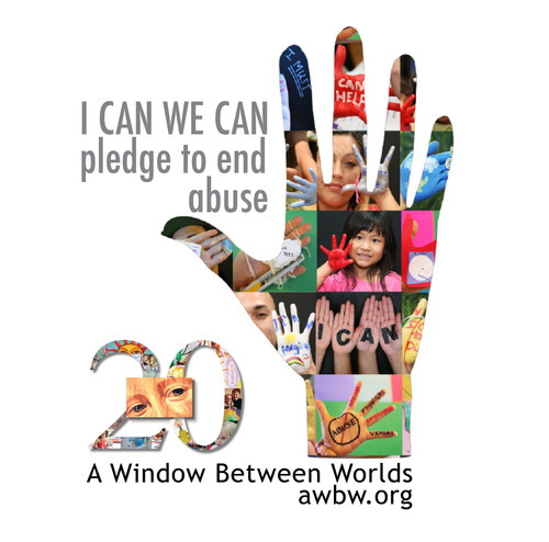 I CAN WE CAN Logo.  (PRNewsFoto/A Window Between Worlds)