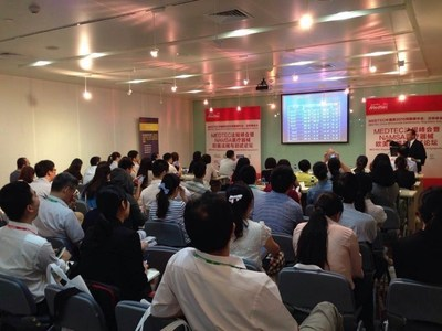 Medtec China onsite conference of 2015