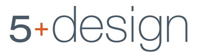 5+design logo