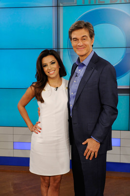 Eva Longoria opens up to Dr. Oz on Friday April 26 about how divorce affected her health.  (PRNewsFoto/The Dr. Oz Show)