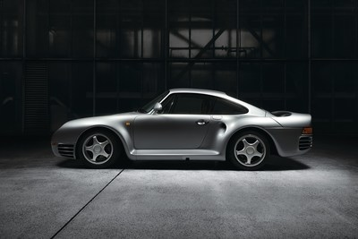 Lot 18_Porsche 959, Orig. 8,294 km, Like New, Model 1988_Starting price euro600,000