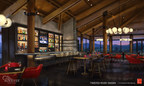 New Twisted River Tavern rendering from Sunriver Resort, A Destination Hotel
