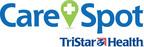 TriStar Health and CareSpot LOGO.  (PRNewsFoto/CareSpot; TriStar Health)