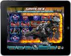 Bonus round in Transformers game on iPad. (PRNewsFoto/International Game Technology)