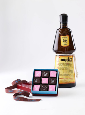 Frangelico teams up with pet charity Bideawee to unveil this season's most delicious holiday treat - delectable truffles that give back, supporting animal welfare and pet adoption in the US.(PRNewsFoto/Frangelico Hazelnut Liqueur)