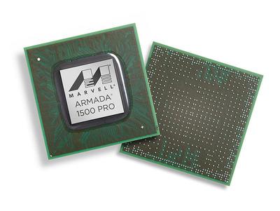 Marvell's ARMADA 1500 PRO Media SoC. (PRNewsFoto/Marvell) (PRNewsFoto/MARVELL)