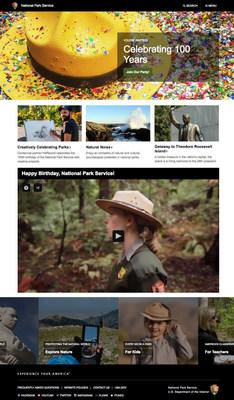 National Park Service website developed by Fig Leaf Software, a full service digital agency and solutions integrator based in Washington, DC