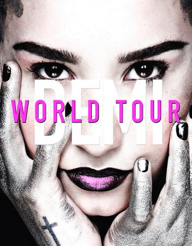 DEMI LOVATO ANNOUNCES NORTH AMERICAN DATES FOR WORLD TOUR (PRNewsFoto/Live Nation Entertainment)