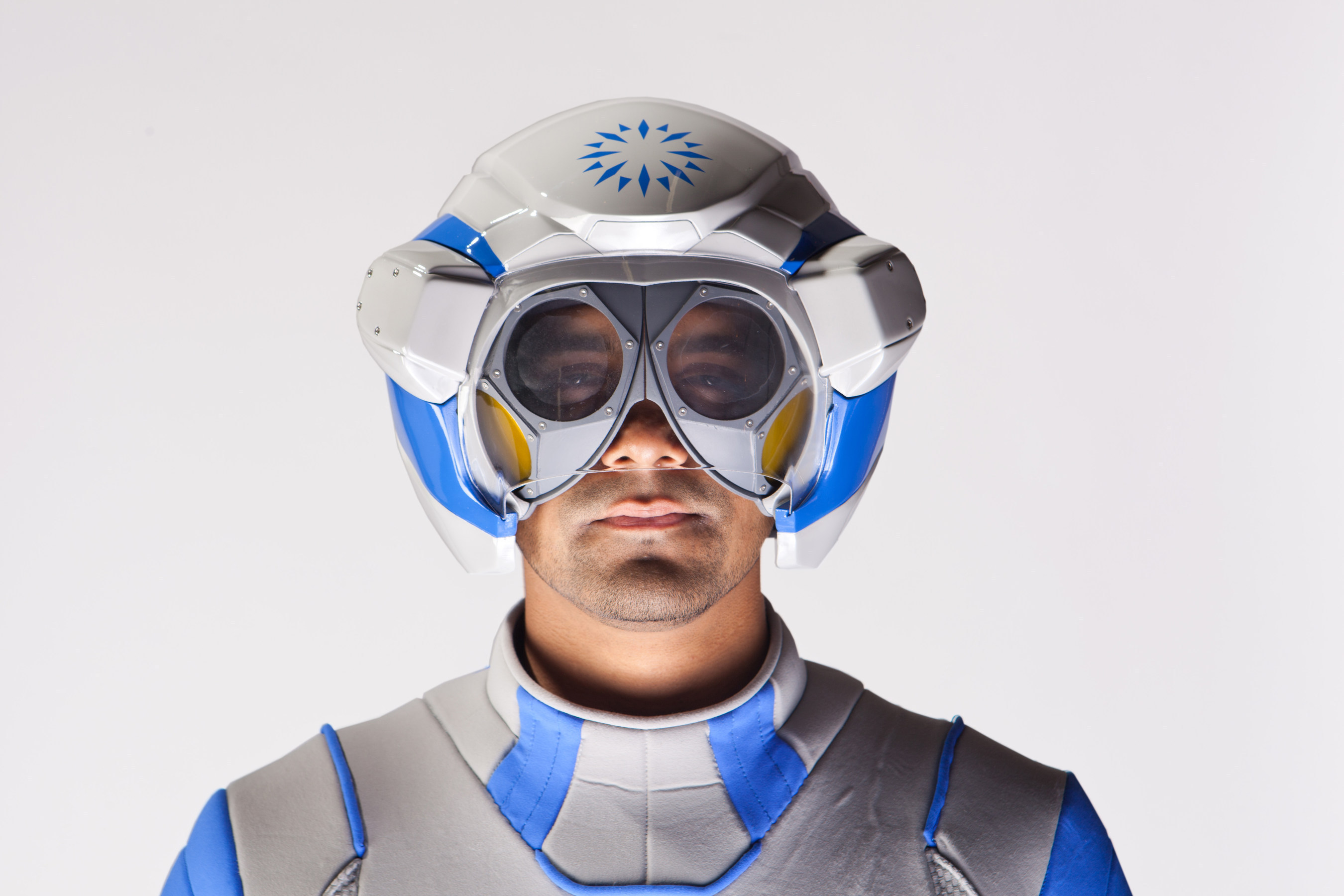 The Genworth R70, a first of its kind, state of the art, age simulation suit, features a helmet with acoustic muffling that gives the effect of hearing loss that often occurs with aging as well as lenses that simulate declines in vision plus the common vision disorders that occur with aging.  Genworth developed the suit to help raise awareness about the need for long term care planning and educate the public on the physical effects associated with aging. Genworth unveiled the suit on Thursday, Nov. 20, 2014, at the Social Innovation Summit in Silicon Valley, California.