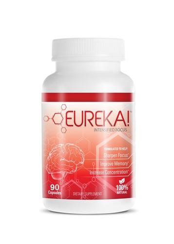 Eureka!(R) Brain Supplement - Developed by neuroscientists Eureka! ground-breaking formula is based on extensive research in the field of neuroplasticity.  (PRNewsFoto/Eureka Brands LLC)