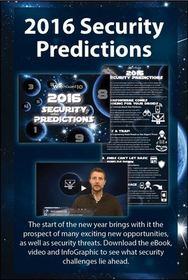 WatchGuard Technologies' Annual 2016 Security Predictions Are Out of This World
