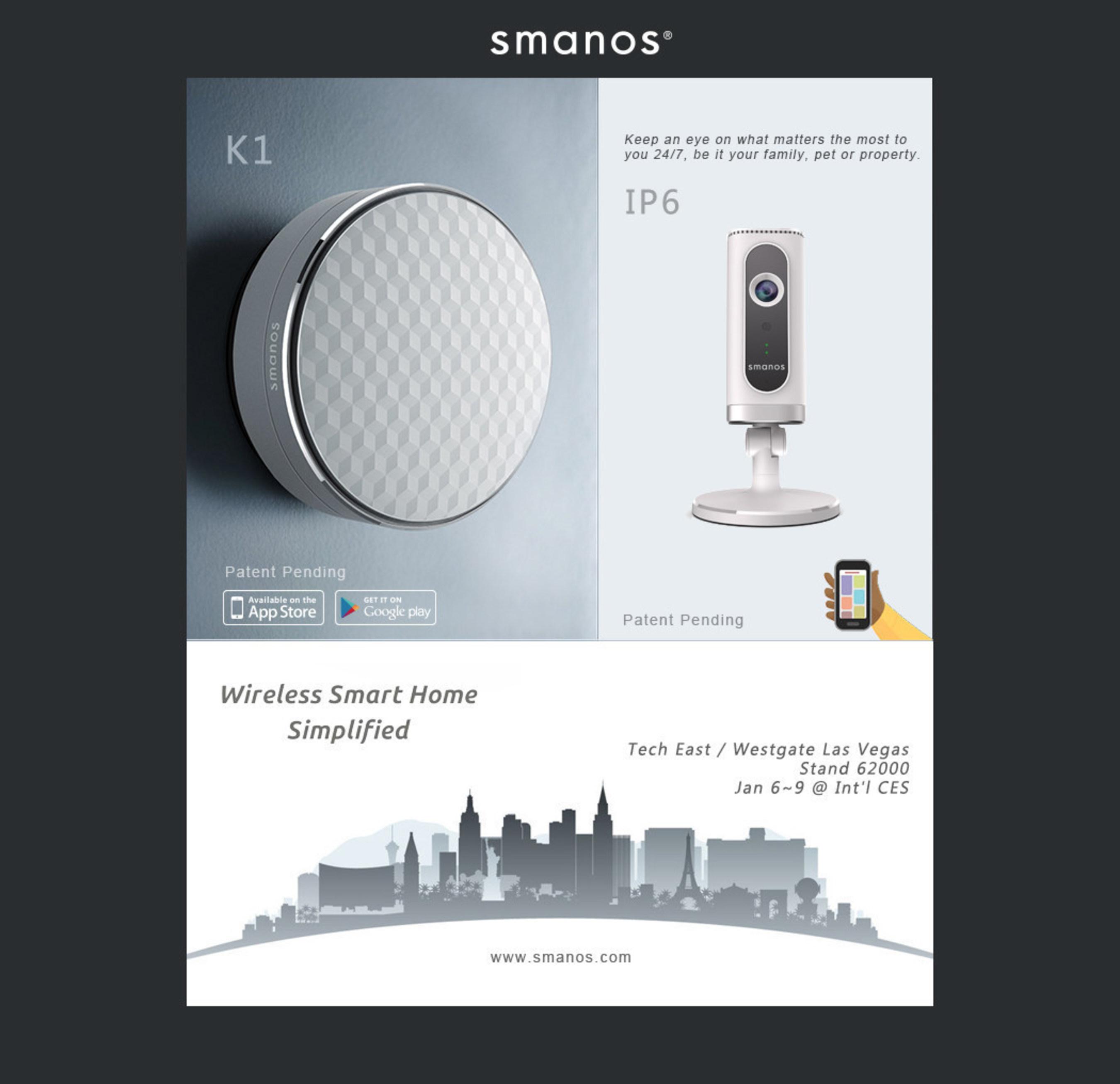 Smart Home Guru Smanos Unveils New Hub And Wifi Camera At International Ces 2015