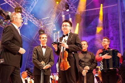 Austria's Ziyu He wins Eurovision Young Musicians 2014