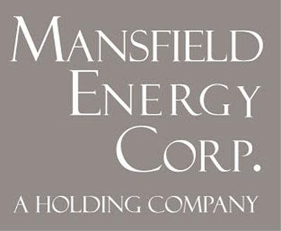 Mansfield Energy logo.  (PRNewsFoto/Mansfield Energy Corporation)