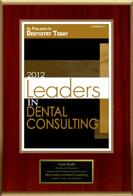 "Gary Kadi Selected For ""2012 Leaders In Dental Consulting"".  (PRNewsFoto/American Registry)"