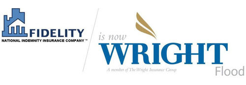Fidelity Flood is now Wright Flood, a division of The Wright Insurance Group.  (PRNewsFoto/Wright Flood)