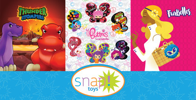 Introducing Thunder Stompers, Lil' Butters and Furbelles! Snaptoys makes company debut at Toy Fair 2016 with socially savvy new collectibles and toy lines for kids.