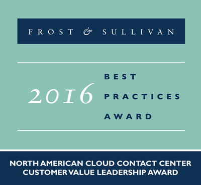 Frost & Sullivan recognizes Five9 with the 2016 North American Customer Value Leadership Award.