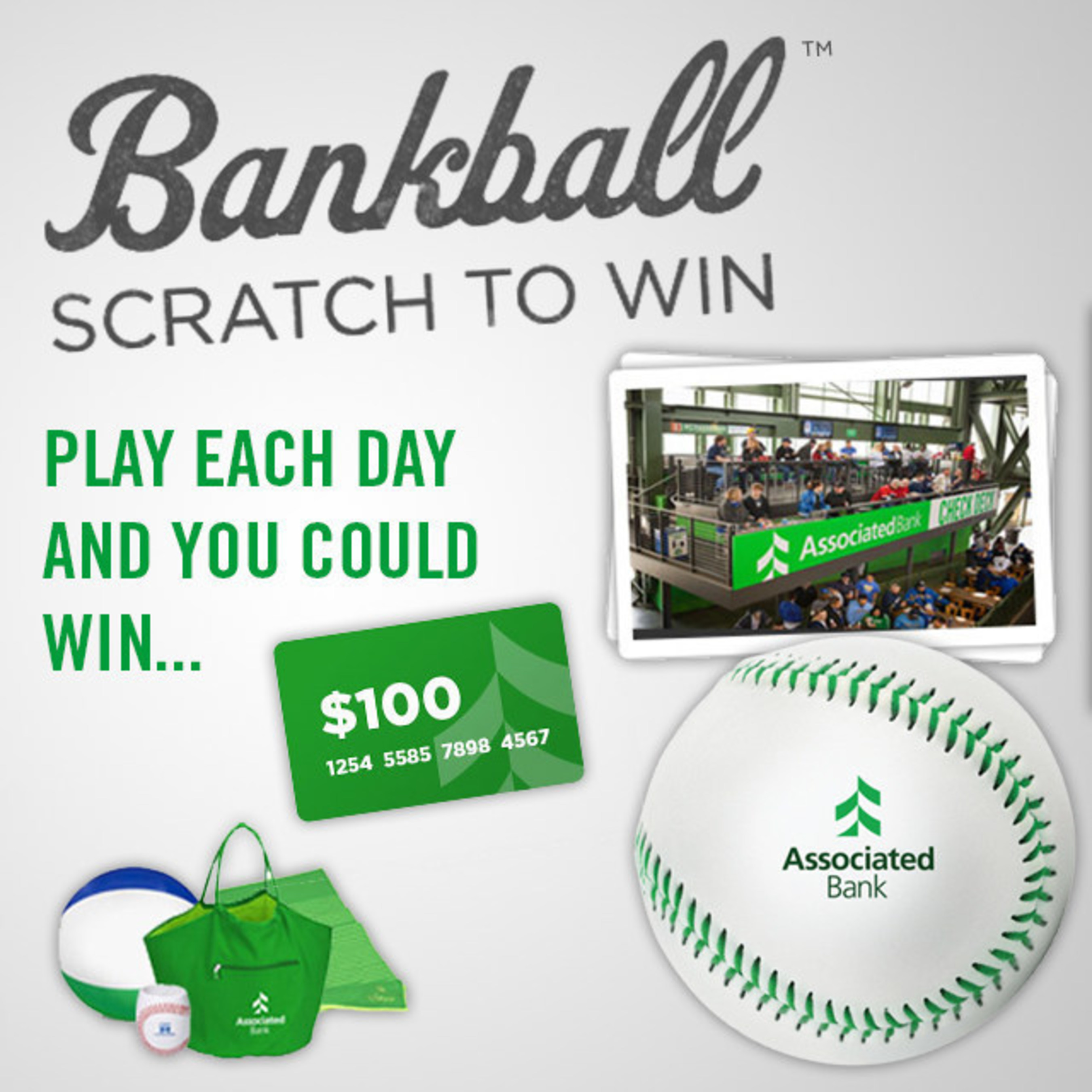 To play, visit the mobile-friendly website at www.bankball.com.