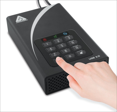 Apricorn Announces USB 3.0 Desktop Edition to Aegis Padlock Secure Drive Family