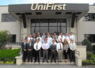 "Whether it's at UniFirst's corporate office (shown above) or via video conferences at their respective facilities nationwide, UniFirst sales representatives continually receive training all year long to improve their selling skills. This is among the many reasons why UniFirst has, once again, been selected as one of the ""50 Best Companies to Sell For"" by Selling Power magazine.  (PRNewsFoto/UniFirst Corporation)"