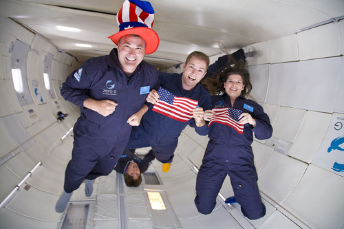 Zero Gravity Corporation Brings Sky High Adventure to the Nation's Capital with Exclusive