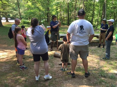Wounded Warriors go on an amazing outdoor adventure in Whiteford, Maryland.