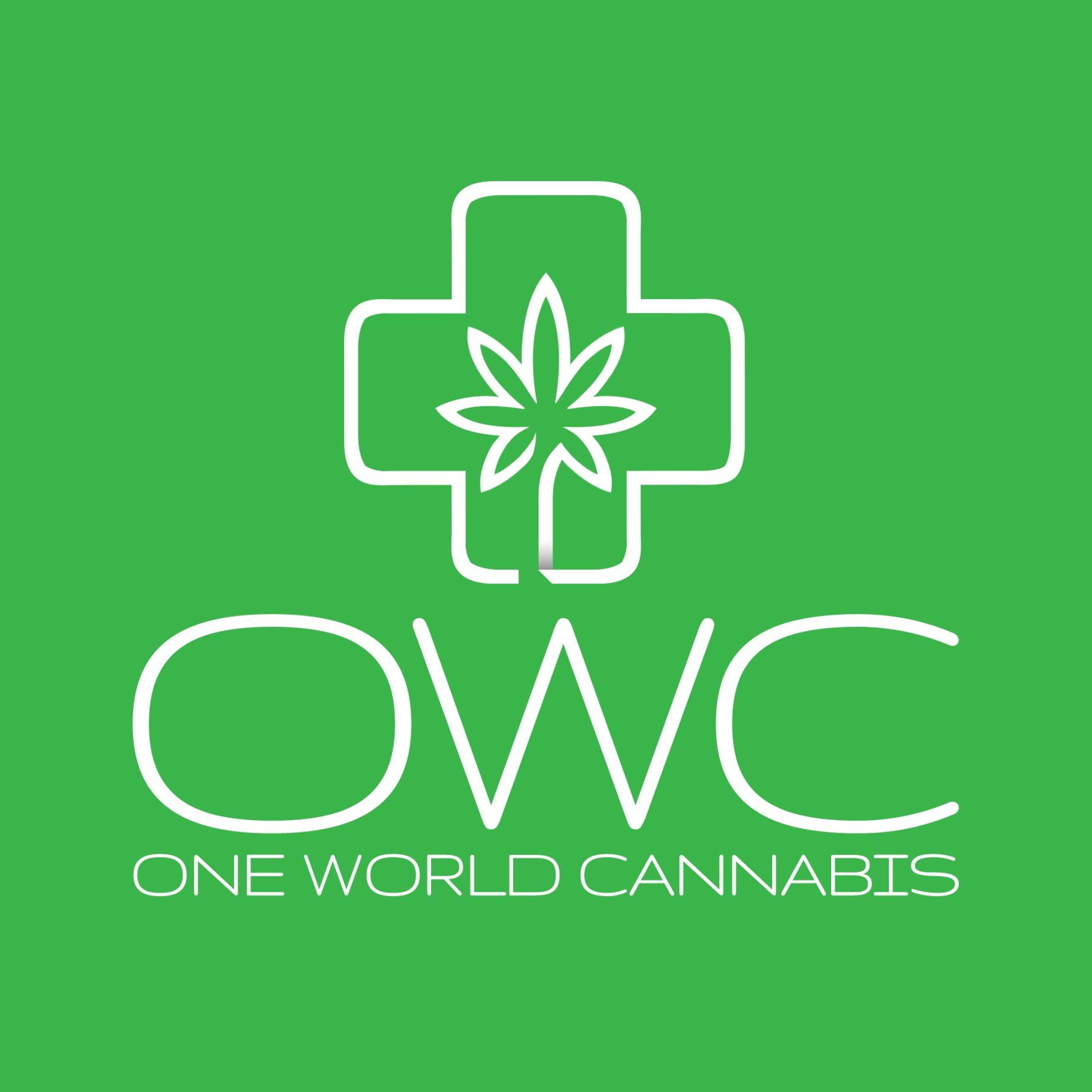 One World Cannabis Logo (PRNewsFoto/One World Cannabis)