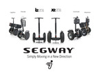 Segway Launches New SE Personal Transporters (PTs) And SegSolution Accessory Packages