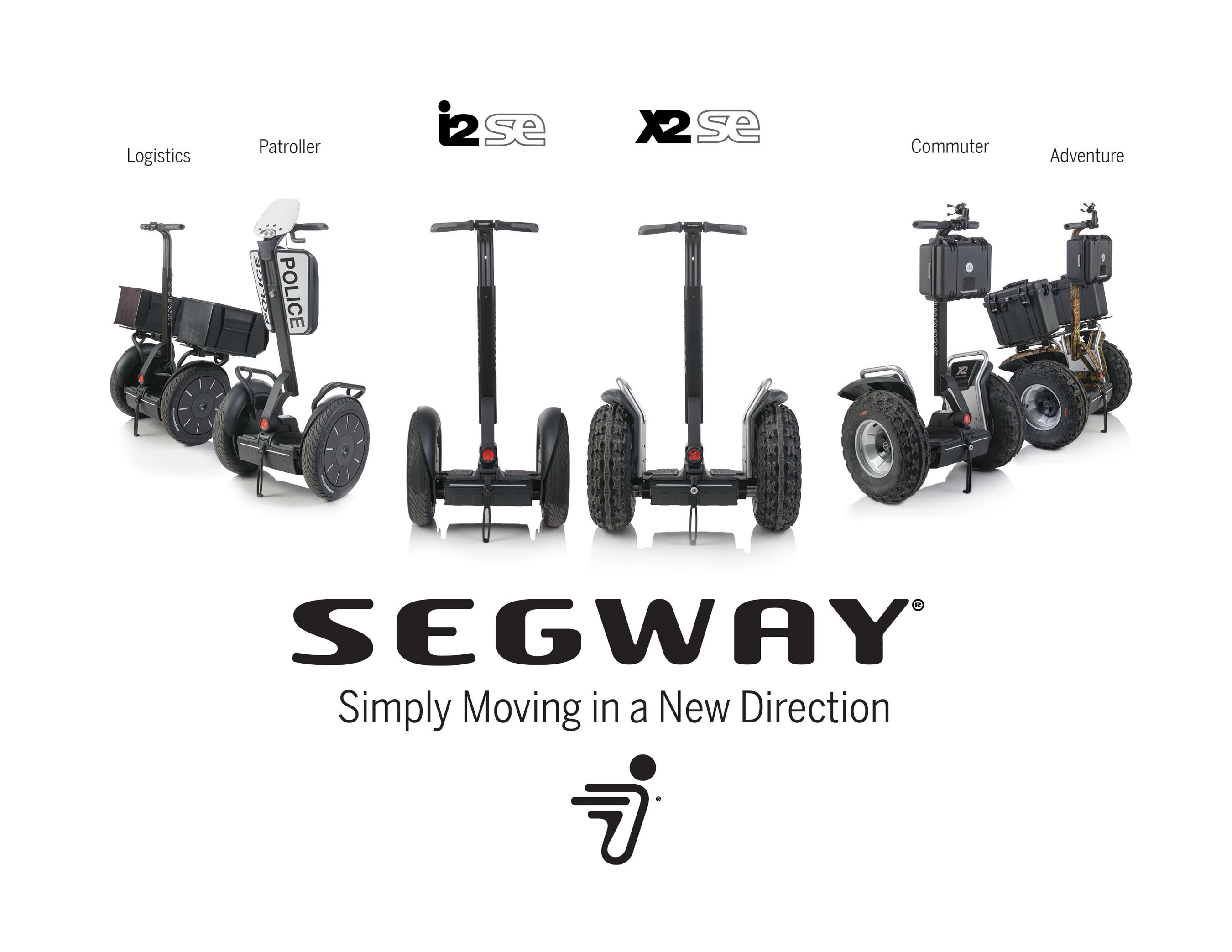Segway Launches New PT Models and SegSolution Accessory Packages. (PRNewsFoto/Segway Inc.) (PRNewsFoto/SEGWAY INC.)