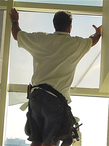 California residents can save the equivalent of four million barrels of oil yearly, or about the annual output of three, 500-Megawatt power stations, if window film were installed on just 10 percent of the dwellings built before building energy codes were mandated, according to the International Window Film Association IWFA (www.IWFA.com).  (PRNewsFoto/International Window Film Association)