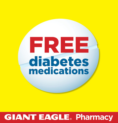 Giant Eagle(R) Expands Free Prescription Program to Include Free Diabetes Medicines. (PRNewsFoto/Giant Eagle, Inc.)